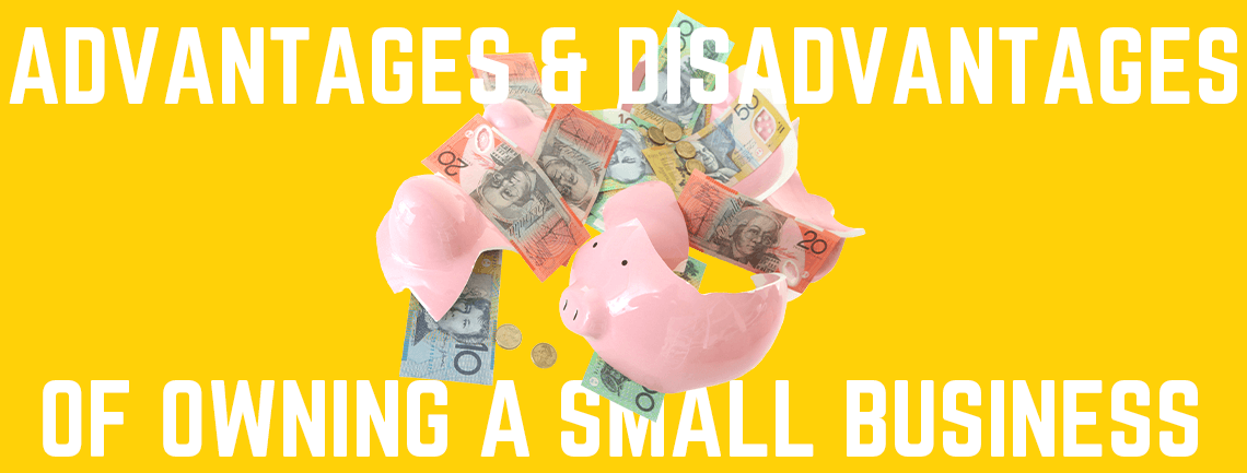 Advantages and Disadvantages of Owning a Small Business